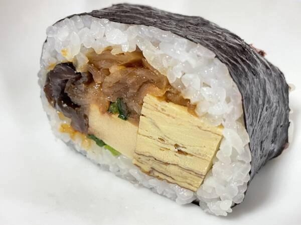 うなぎ寿司料理「うなぎのはまう」の「巻き寿司」